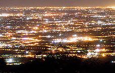 luci notturne artificiali